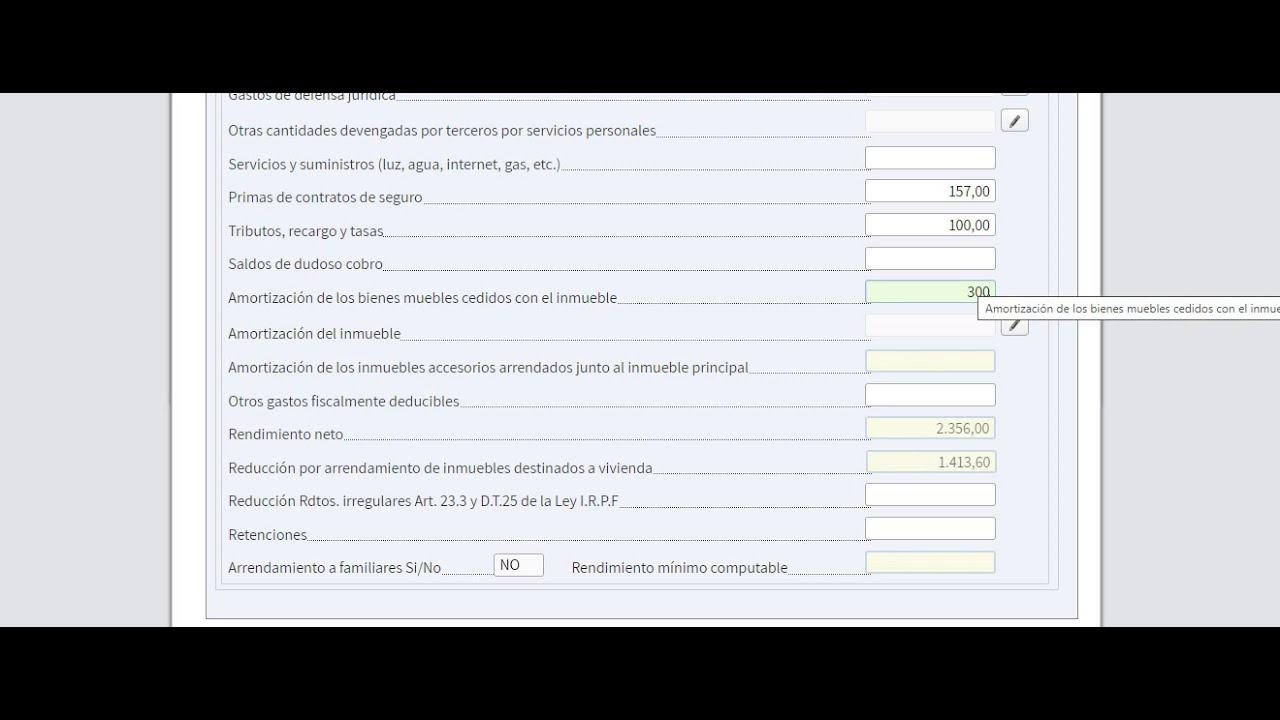 RENTA 2019 PARA PROPIETARIOS Cómo se declara un alquiler , simulación con borrador de la declaración