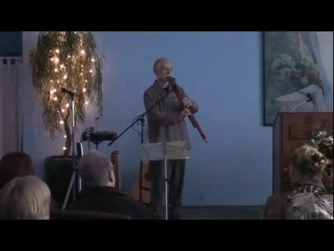 Contrabass Drone Flute by Stephen DeRuby at the Positive Living Center meditation