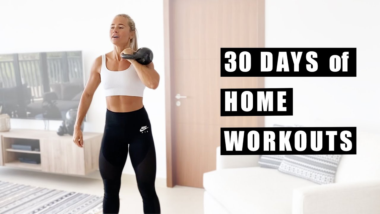 30 Days of Home Tabata Workouts