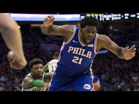 Smart Ejected! 76ers Finally Beat Celtics! Embiid 37 Pts! 2018-19 NBA Season