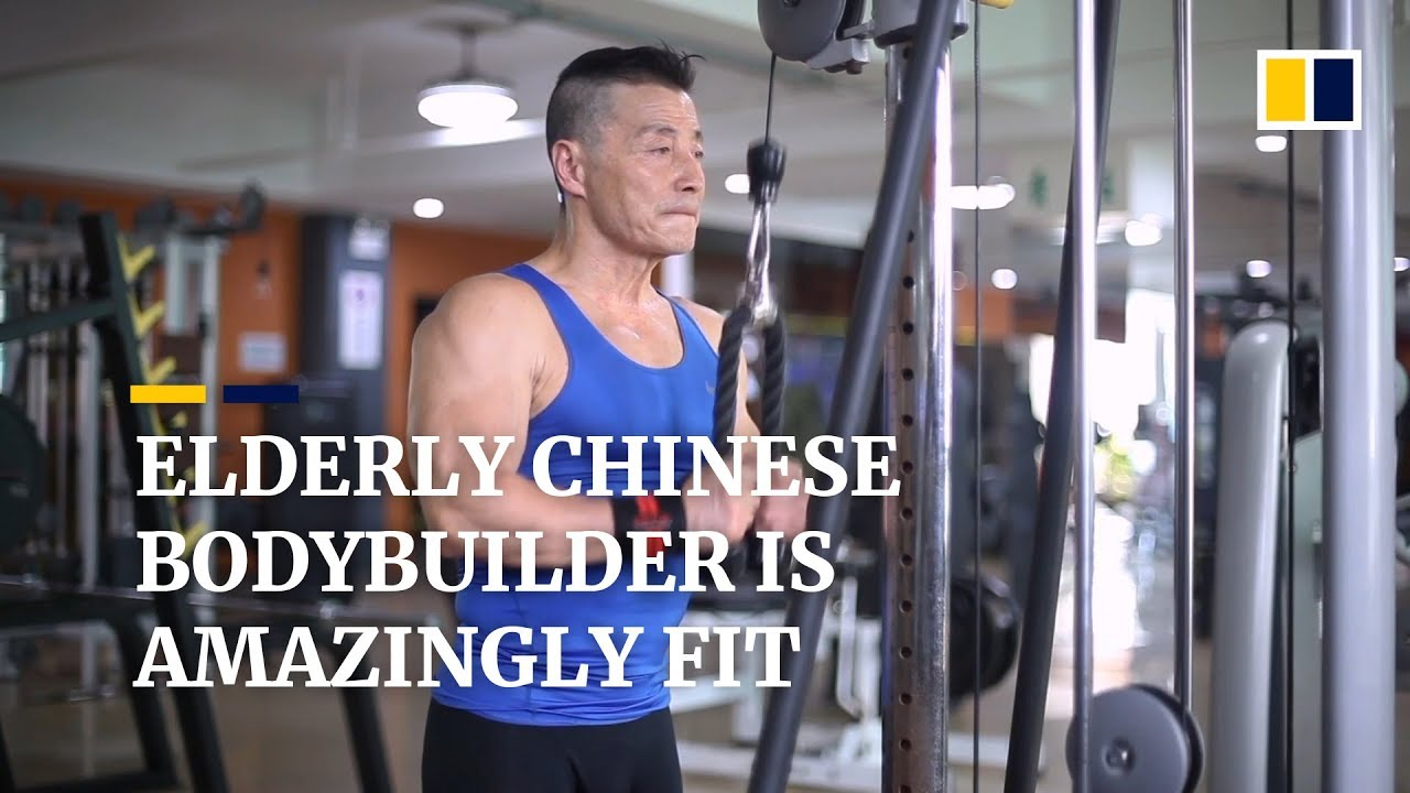 Download 70-year-old Chinese bodybuilder says he's stronger than most young people