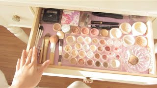 Asmr Makeup Collection And Vanity Dresser Tour - Fairy Char