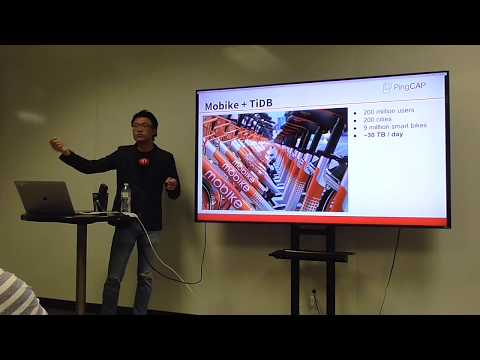 #BDAM: How TiDB Helps Scale Worlds Largest Bikesharing Platform, by Kevin Xu, PingCap