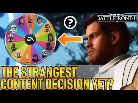 THE STRANGEST CONTENT DECISION YET? Star Wars Battlefront 2 thumbnail