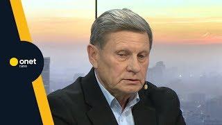Balcerowicz o ataku na Adamowicza: głosicieli nienawiści trzeba piętnować | #OnetRANO