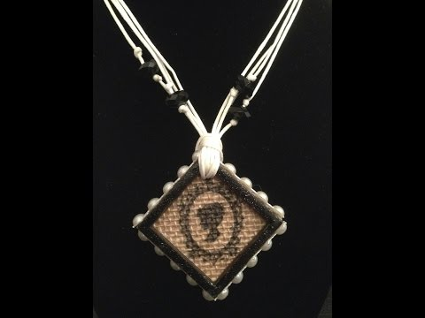 SaCrafters Design Team Project Pendants from Junk Mail Part Two