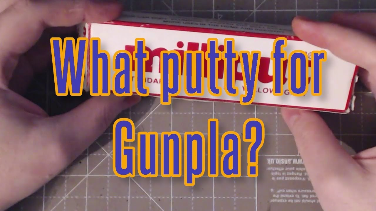 What putty is best for Gunpla building?