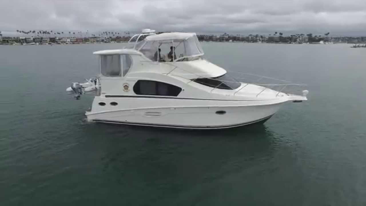2009 Silverton 35 Motor Yacht W Yanmar Diesels For Sale