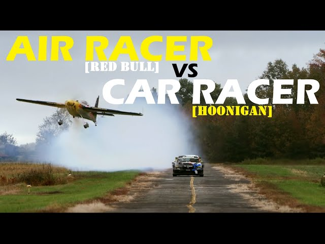 Subaru WRX Vs Red Bull Aircraft - Pastrana