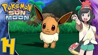 Pokémon Sun and Moon - Part 14: Route 4 & Finding a Girl Eevee- Gameplay Walkthrough