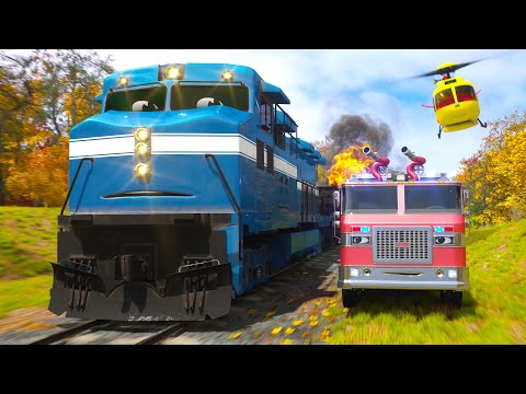 William Watermore the Fire Truck Part 2 - Real City Heroes (RCH) | Videos For Children