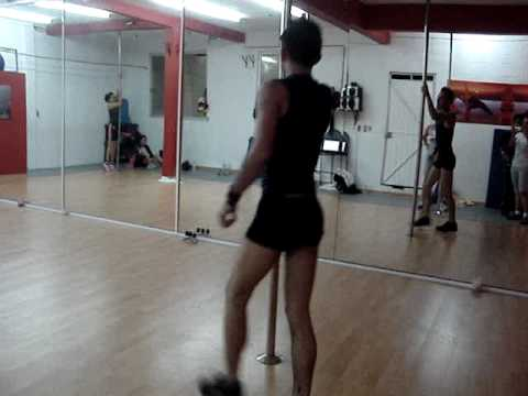 JOB POLE DANCE...(MIMS. THIS IS WHY IM HOT) MALLAKHAMB STUDIO1