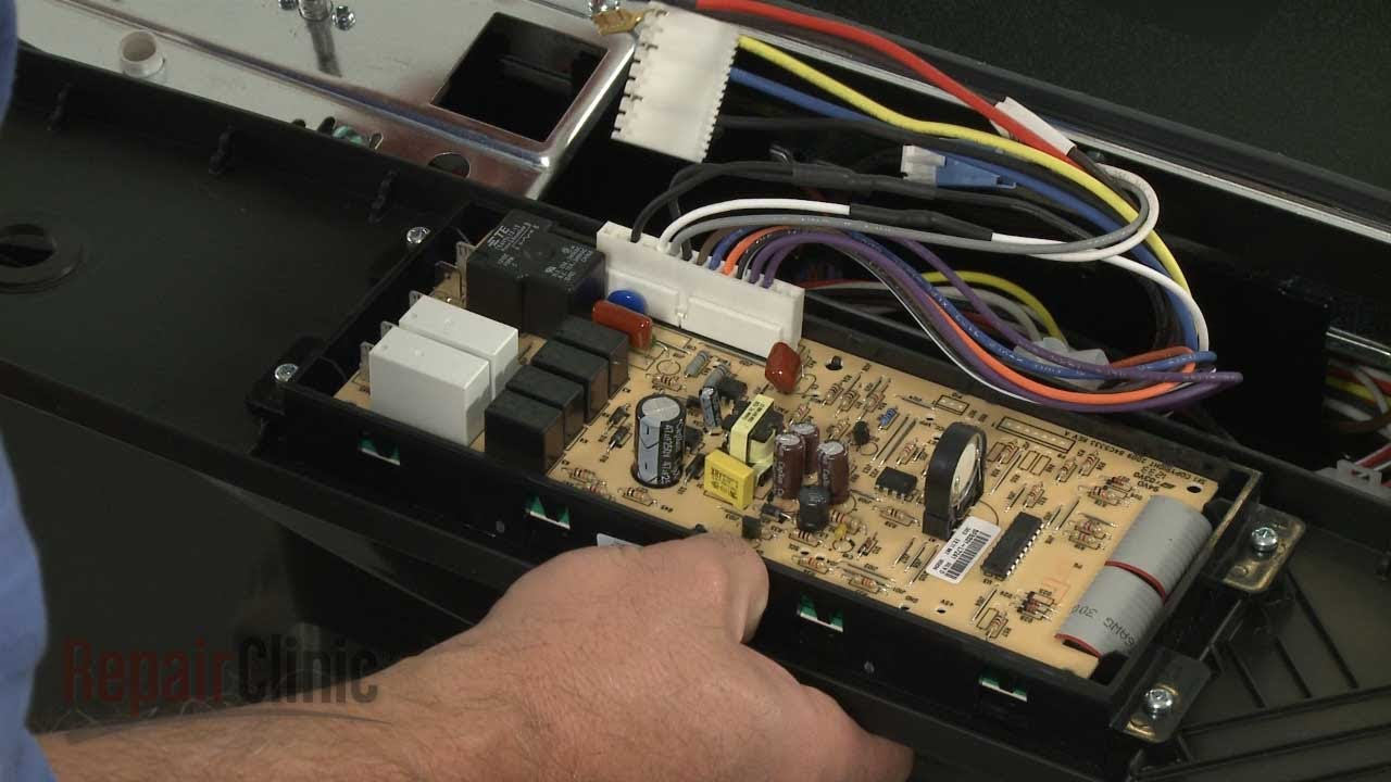 Oven Control Board Replacement – Kenmore Electric Range Repair (Part #318296822)  YouTube