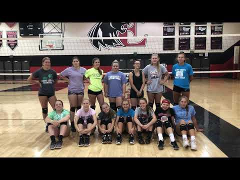 Eastbrook High School Girls Volleyball