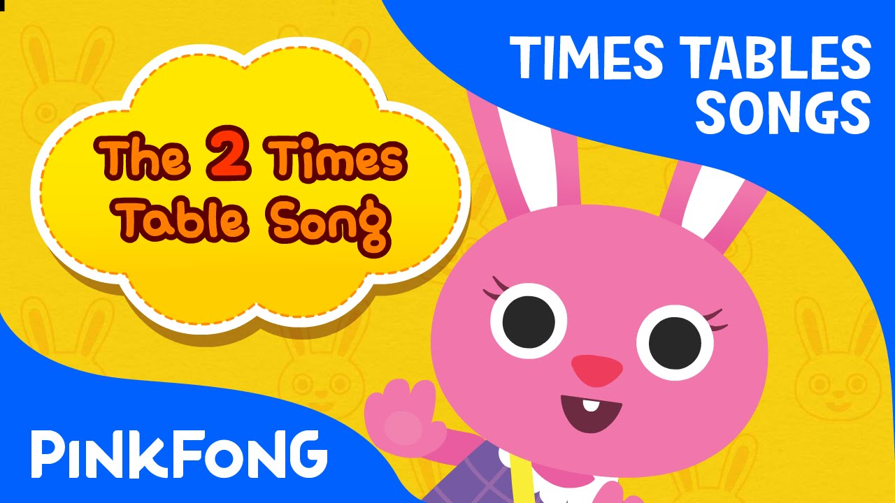 The 2 Times Table Song   Count by 2s   Times Tables Songs   PINKFONG Songs for Children