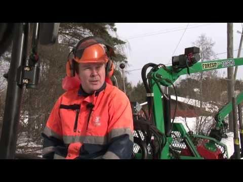 UPM Silvesta - Metsäpalveluyrittäjä Eero-Tapani Kärkkäinen