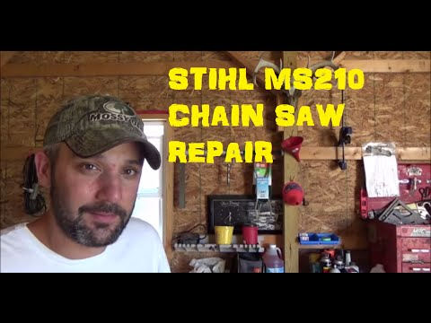 Replace: Carburetor Stihl MS210 Chain Saw