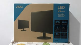 AOC I2080SW 19 5 quot IPS LCD Monitor Unboxing