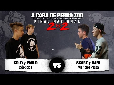 COLD y PAULO vs SKARZ y DANI - Final Nacional ACDPZoo 2vs2