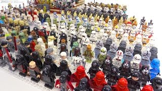 LEGO Star Wars 400+ minifigure collection!