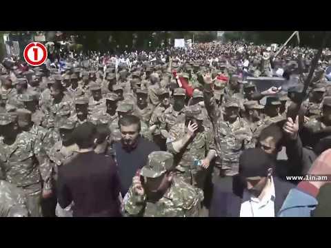 Армия перешла на сторону народа Ереван, Армения! 23 апреля 2018 серж саргсян подал в отставку
