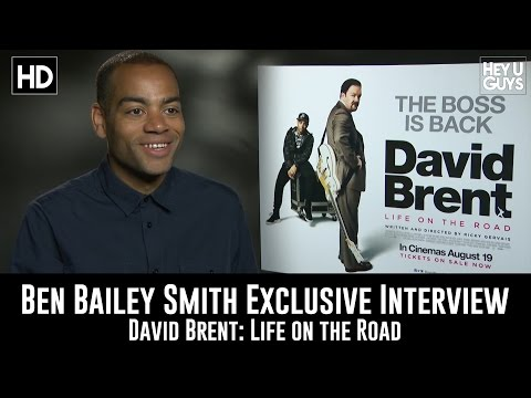 Ben Bailey Smith (Doc Brown) Exclusive Interview - David Brent: Life on the Road