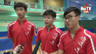 學界D1乒乓 喇沙重登男子組王者寶座