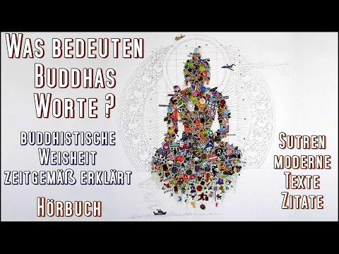 Was Bedeuten Buddhas Worte ? Buddhistische Weisheit Zeitgemäß Erklärt ( HÖRBUCH )