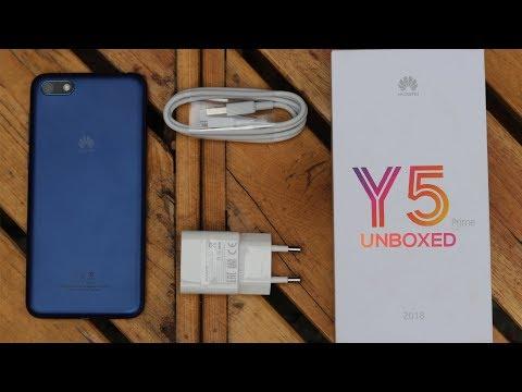 Huawei Y5 Prime (2018) Unboxing