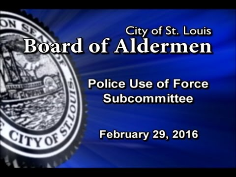 Subcommittee on Police Use of Force