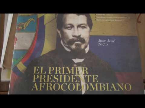 PRESIDENTE AFRODESENDIENTE  DE COLOMBIA JUAN JOSÉ NIETO GIL