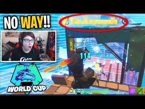 I spectated my WORLD CUP PARTNER and was AMAZED when he CLUTCHED THIS GAME!