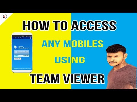 Team Viewer   How To Access Your Neighbors Mobile   Tech Bazaar Tamil