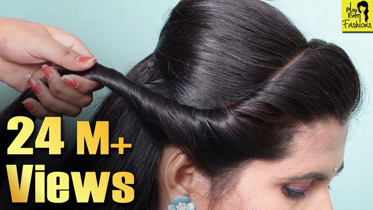 Latest Hairstyles For Party Wedding Easy Hairstyle For Beginners