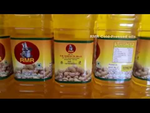 RMR Groundnut Cold Pressed Oil Extraction
