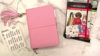 WAL-MART PEN+GEAR Traveler's Notebook Weekly PLAN WITH ME Sep 2-8, 2019