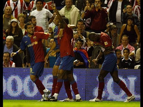 FC Barcelona - Algunos de los mejores goles del Barça en San Mamés