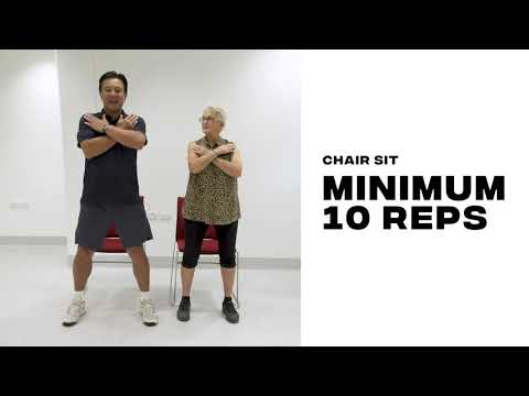 Five simple exercises seniors can do at home