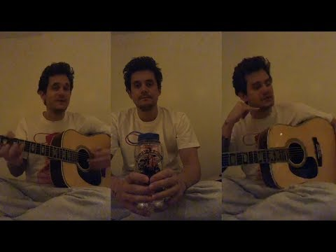 John Mayer Gives Blues Guitar Lessons to his fans   Instagram Live Stream  28 March 2018