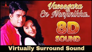 Vaseegara | 8D Audio Song | Minnale | Madhavan | Harris Jayaraj 8D Songs
