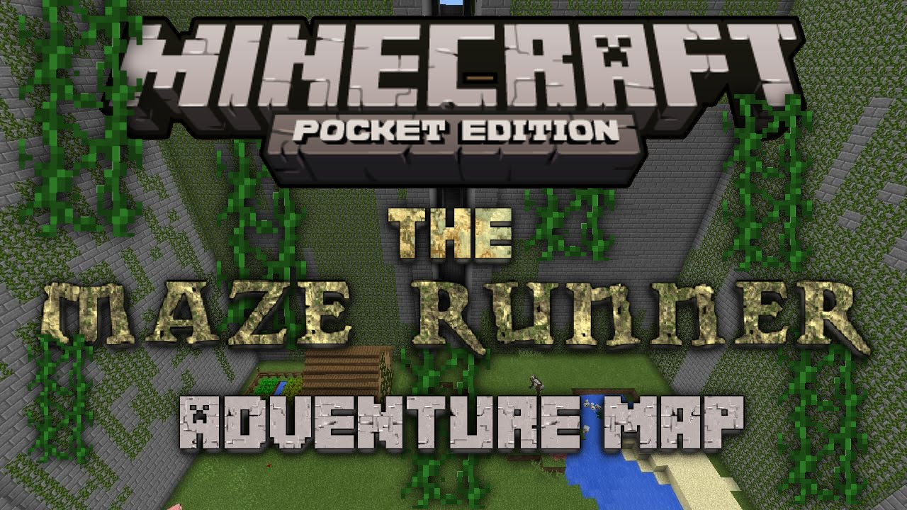 The maze runner minecraft pocket edition adventure map youtube gumiabroncs Choice Image