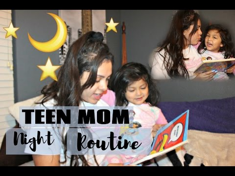 Teen/Stay-At-Home Mom Night Routine!