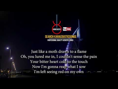 Stitches by Shawn Mendes Acoustic Guitar Backing Track | Acoustic Karaoke