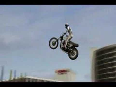 Bad To The Bone Evel Knievel Video