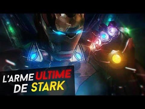 AVENGERS 4 L'ARME ULTIME DE TONY STARK