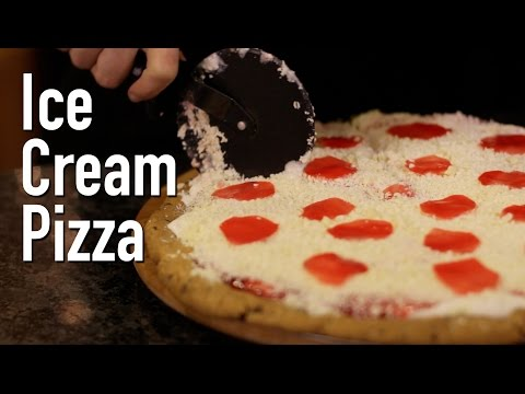 Ice Cream Dessert Pizza