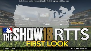 MLB The Show 18 RTTS Gameplay - Road to the Show with Joey Broadway Jr. (MLB 18 RTTS Gameplay)