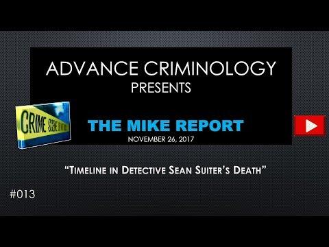 Timeline in Detective Sean Suiter's Death