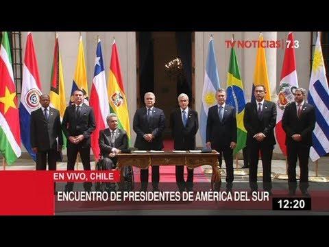 Vizcarra suscribe Declaración sobre Renovación y Fortalecimiento de Integración de América del Sur