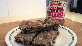How Make Low Carb Peanut Butter Breakfast Bars